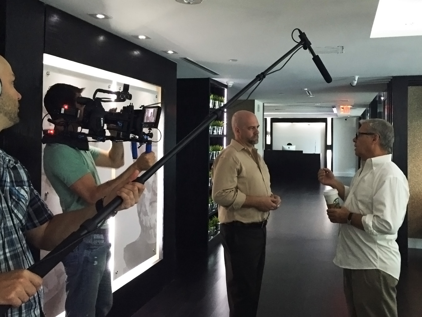 behind the scenes for reality tv show miami video production by